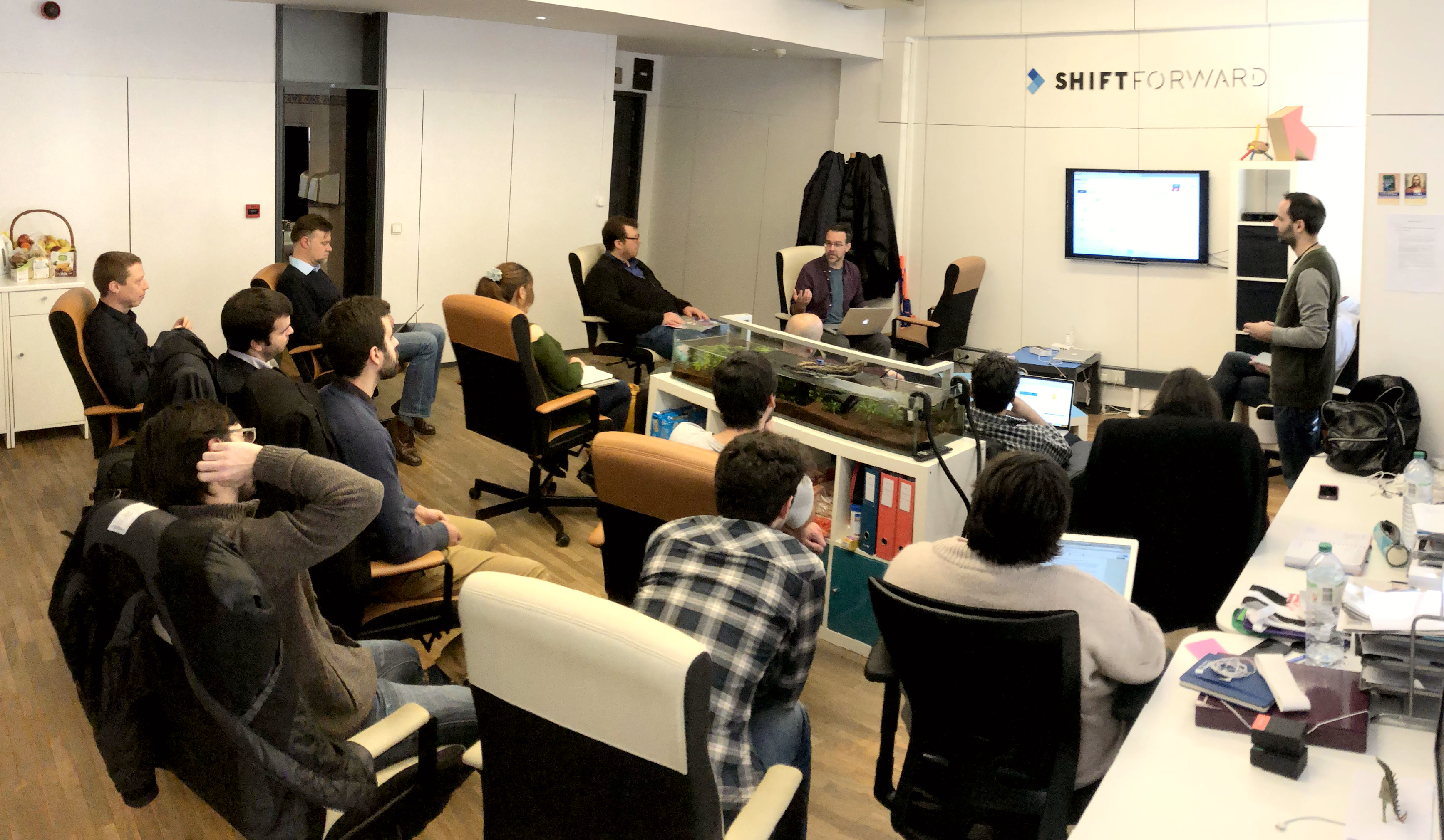 ShiftForward and Velocidi meetup